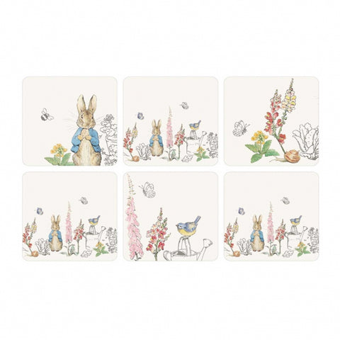 Peter Rabbit Classic Coasters Set of 6