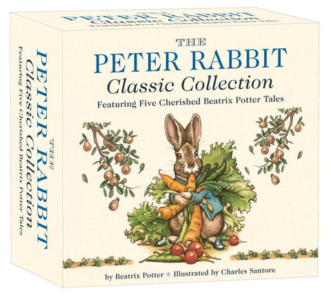 Beatrix Potter: The Peter Rabbit Classic Collection, illustrated by Charles Santore