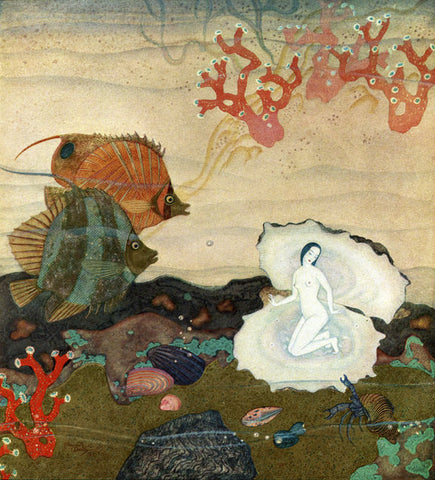 Print: Edmund Dulac - The Pearl of Love