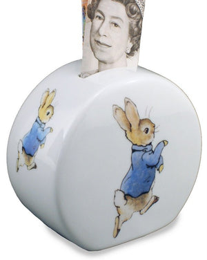 Porcelain Money Box: Peter Rabbit