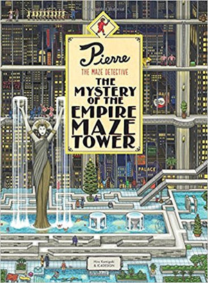 Pierre the Maze Detective, The Mystery of the Empire Maze Tower by Hiro Kamigaki & IC4DESIGN
