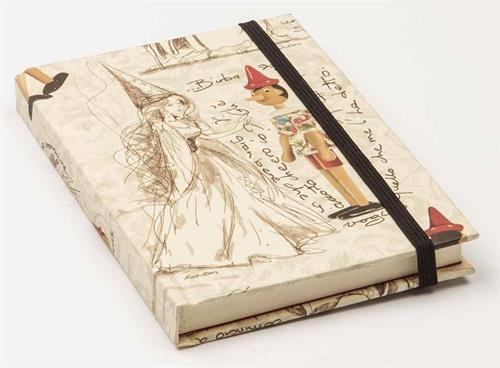 Kartos Hardback Pinocchio Luxury Mini Notebook