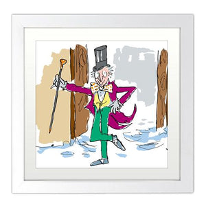 Print: Roald Dahl - Charlie and the Chocolate Factory (Mounted)