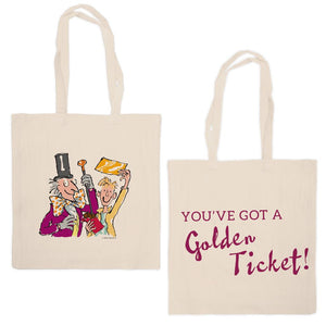 Roald Dahl Charlie and the Chocolate Factory Tote Bag