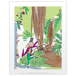 Charlie and the Chocolate Factory Print by Quentin Blake