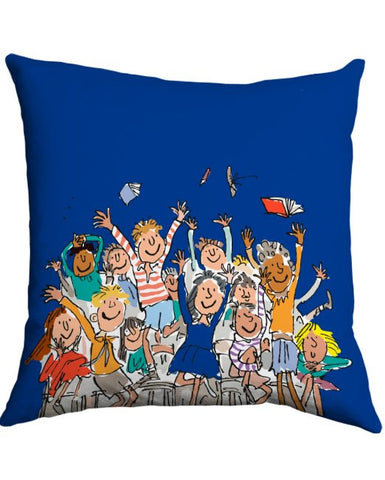 Cushion: Roald Dahl, Matilda (Blue)