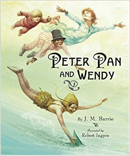 J.M. Barrie: Peter Pan and Wendy, illustrated by Robert Ingpen