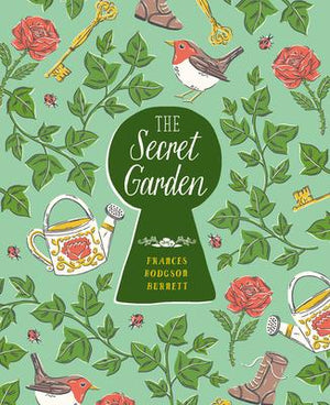 The Secret Garden by Frances Hodgson Burnett, Illustrated by Luisa Uribe