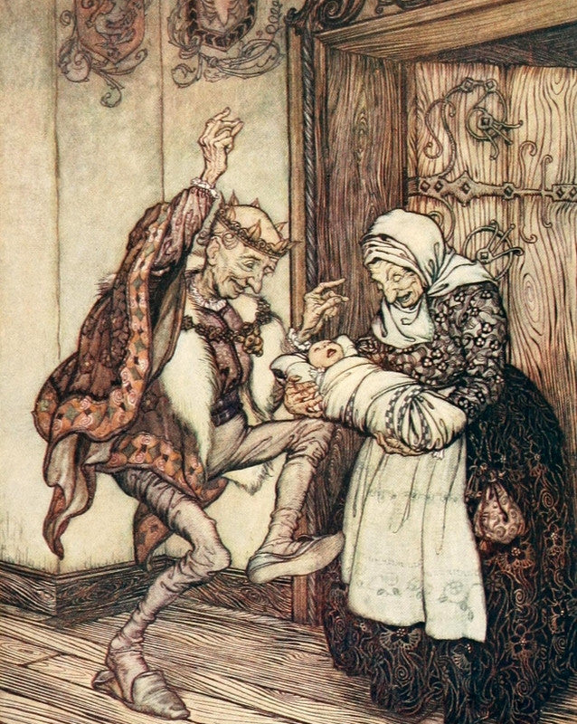 Arthur Rackham Print Snowdrop and other tales