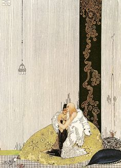 Print: Kay Nielsen - The Lad in the Bear's Skin