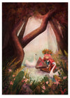 Print: Shannon Bergin - Wild Girl of the Forest (A3)