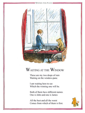 Waiting at the Window Winnie the Pooh