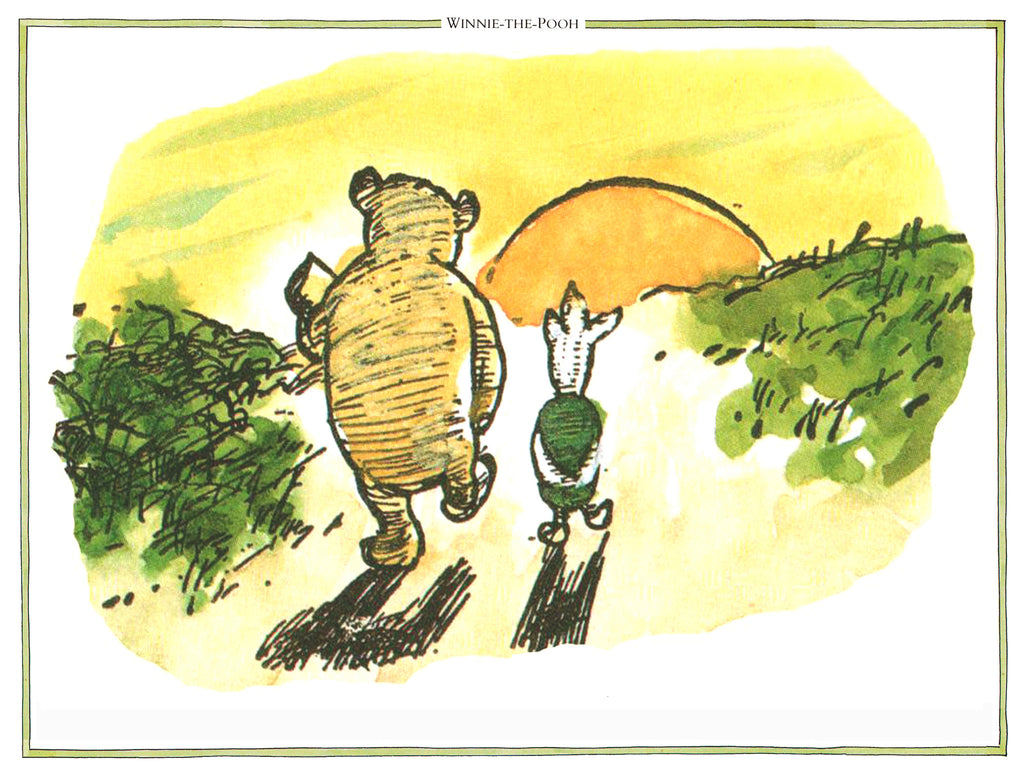 Pooh and Piglet Sunet