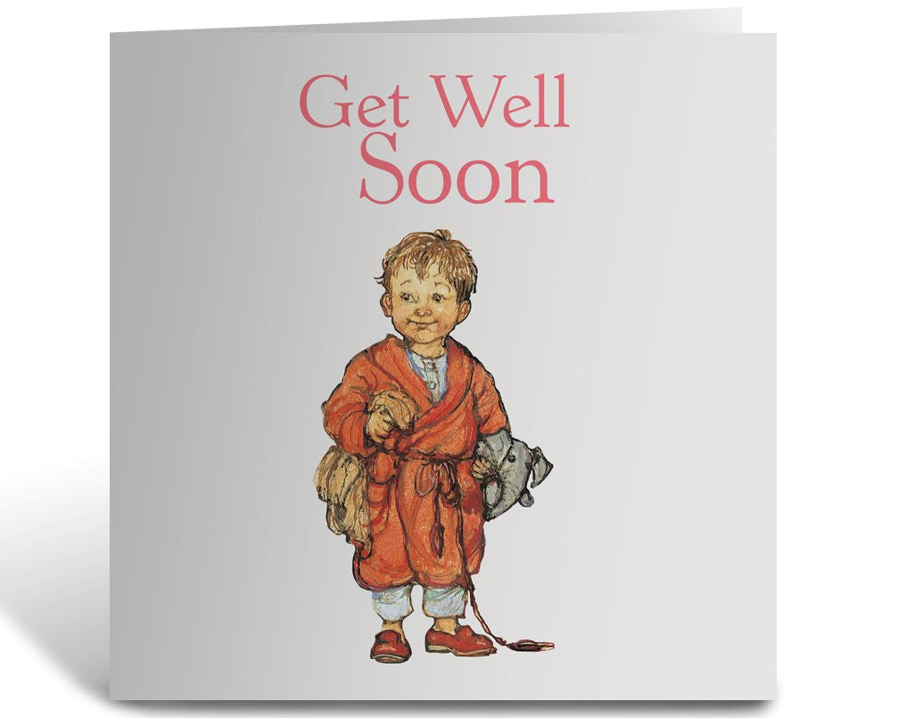 Greeting Card: Alfie, Get Well Soon