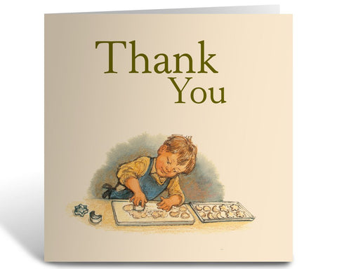 Greeting Card Card: Alfie, Thank You