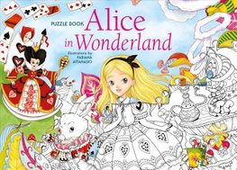Puzzle Book Alice in Wonderland by Fabiana Attanasio