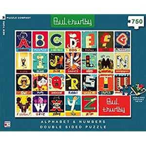 Paul Thurlby Numbers and Alphabet Jigsaw