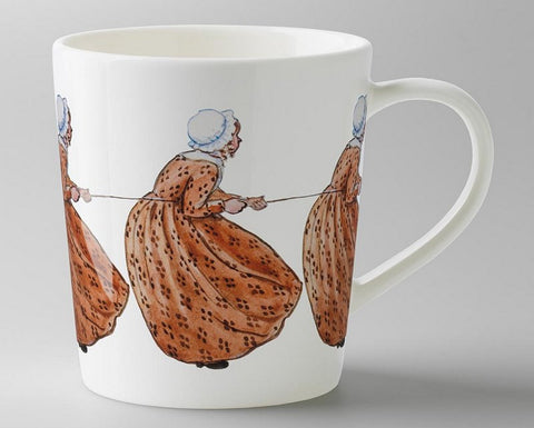 Mug: Elsa Beskow, Aunt Brown (with handle)