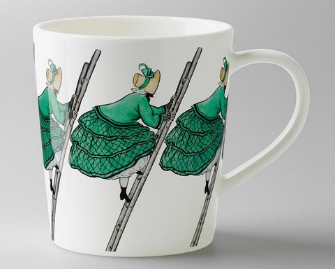 Mug: Elsa Beskow, Aunt Green (with handle)