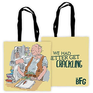 Tote Bag: Roald Dahl - The BFG (We Had Better Get Crackling)
