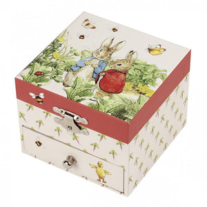 Peter Rabbit Musical Jewellery Box