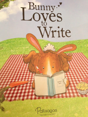 Peter Bently: Bunny Loves to Write, Illustrated by Emma Foster and Deborah Melmon (Second Hand)