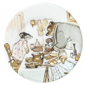 Melamine Dessert Plate: Ernest and Celestine (cooking)