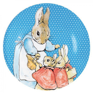 Dessert Plate: Peter Rabbit (Blue)