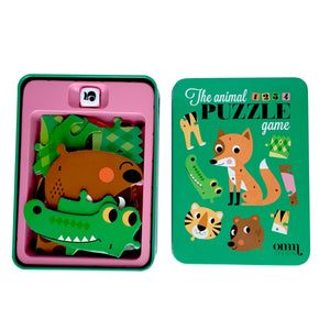 Puzzle Dice Game - Animals by Ingela P. Arrhenius