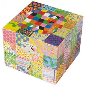 Musical Jewellery Box: Elmer- Classic (Cube)