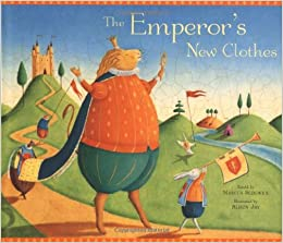 Marcus Sedgwick: The Emperor's New Clothes, Illustrated by Alison Jay (Second Hand Book)