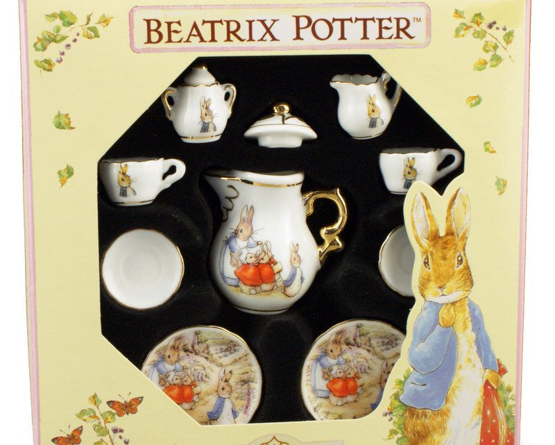 Peter Rabbit Porcelain: Mini tea set