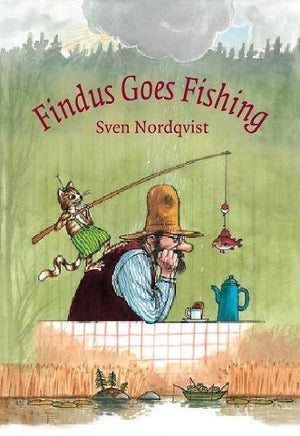 Findus Goes Fishing by Sven Nordqvist