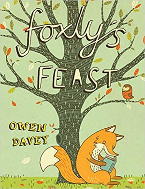 Owen Davey: Foxly's Feast (Second Hand Book)