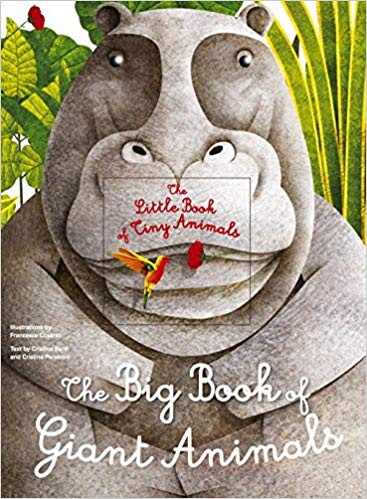 Banfi and Peraboni: The Big Book of Giant Animals, illustrated by Francesca Cosanti