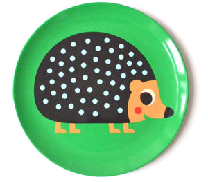 Hedgehog Baby Plate