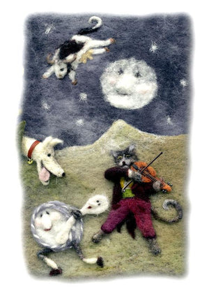 Hey Diddle Diddle Print by Suzie Sullivan, Derryaun Crafts