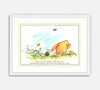 Winnie the Pooh Print: If You Live to be a Hundred