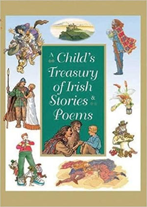 Yvonne Carroll: A Child's Treasury of Irish Stories & Poems, Illustrated by Fiona Waters (Second Hand)