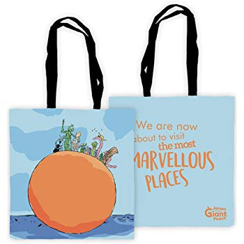 Tote Bag: Roald Dahl - James and the Giant Peach (Marvellous Places)