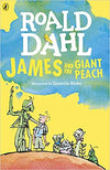 Roald Dahl: James and the Giant Peach, illustrated by Quentin Blake