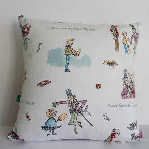 Murraymaker Cushion: Charlie and the Chocolate Factory