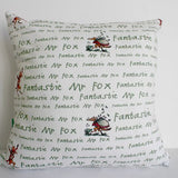 Murraymaker Cushion: Fantastic Mr. Fox