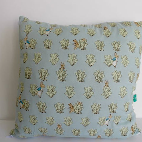 Murraymaker Cushion: Peter Rabbit (Lettuces)