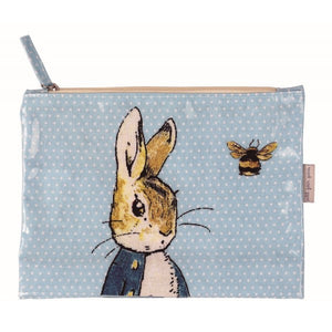 Large Pouch: Peter Rabbit (Blue)