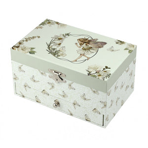 Musical Jewellery Box: The Flower Fairies (with Drawer)