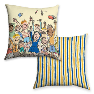 Cushion: Roald Dahl, Matilda (Throwing Books)
