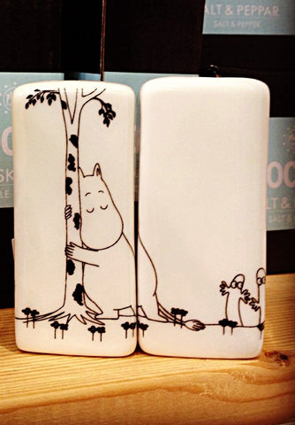 Salt and Pepper Shakers: Moomin