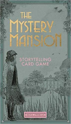 The Mystery Mansion- Storytelling Card Game, with illustrations by Lucille Clerc