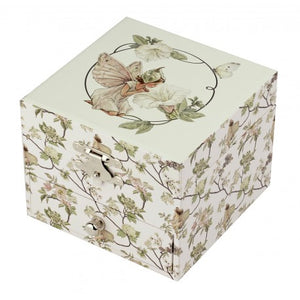 Musical Jewellery Box: The Flower Fairies- Narcissus (Cube)